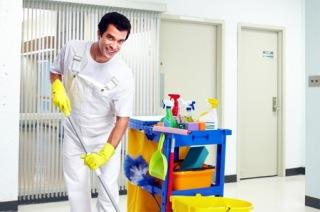 Personal servicii curatenie  - spatii publice