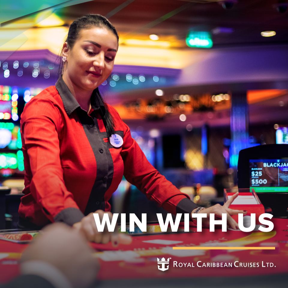Blackjack dealer jobs on cruise ships where to play video poker in oregon